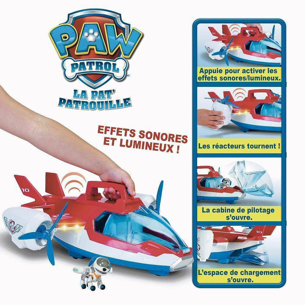 spinmaster spinmaster air patroller aereo paw patrol