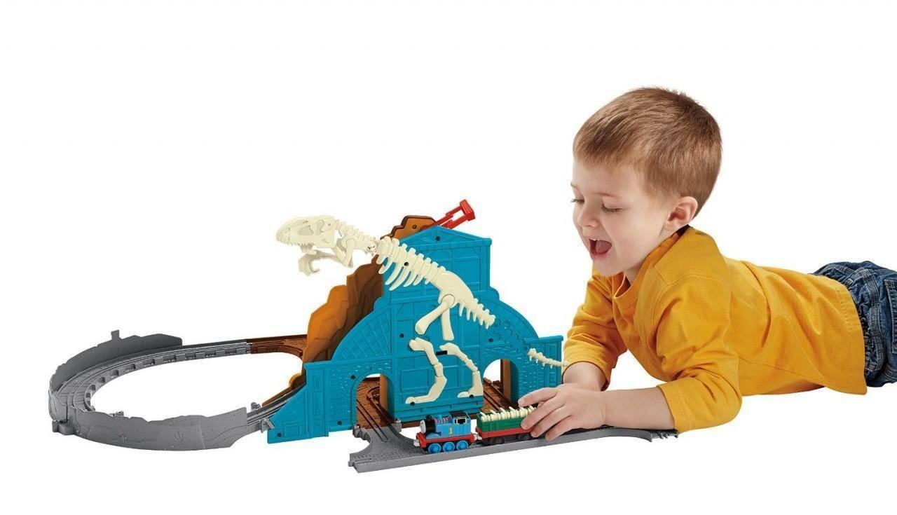 fisher-price fisher-price thomas e il dinosauro ruggente