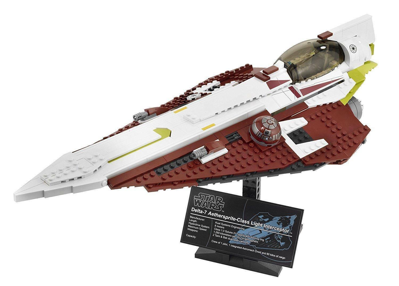 lego obi-wan's jedi starfighter lego star wars 10215