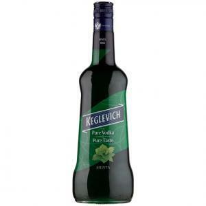 keglevich keglevich vodka menta 1 litro