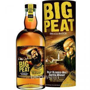 douglas laing's douglas laing's big peat scotch whisky blended 70 cl in astuccio