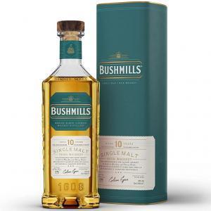 bushmills bushmills whisky aged 10 years single malt irish whisky triple distilled 70 cl