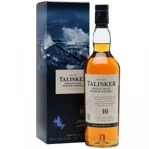 talisker talisker single malt scotch whisky 10 anni in astuccio