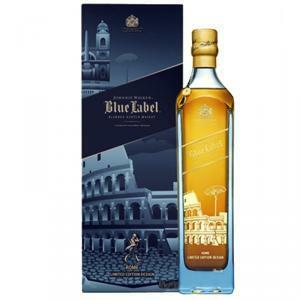 johnnie walker johnnie walker blue label roma blended scotch whisky 70 cl in astuccio