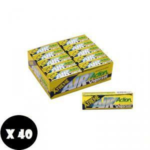 vigorsol vigorsol air action  xtreme icy lemon senza zucchero (40pz)