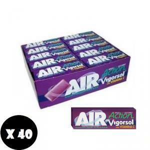 vigorsol vigorsol air action ice cassis senza zucchero 40pz