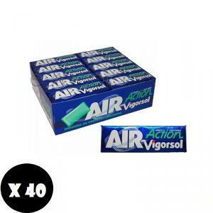 perfetti van melle vigorsol air action senza zucchero 40 pz
