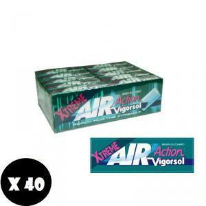 vigorsol vigorsol air xtreme senza zucchero 40 pz
