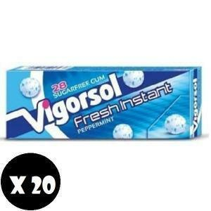 vigorsol vigorsol reset fresh instant senza zucchero 20 pz