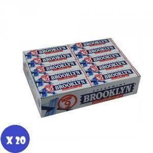 brooklyn brooklyn spearmint bianche 20 pz