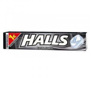 halls extra forte senza zucchero 20 pz