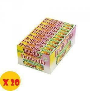 fruittella fruittella caramelle gommose frutti della natura 20 pz