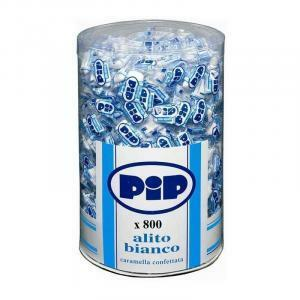 pip pip caramelle bianche confettate 800 pz