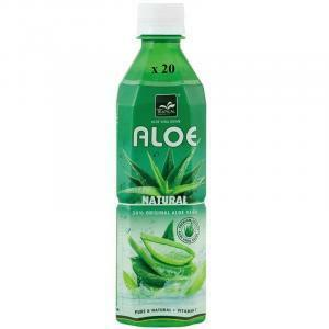 tropical aloe vera natural con vitamina c confezione da 20 bottigliette