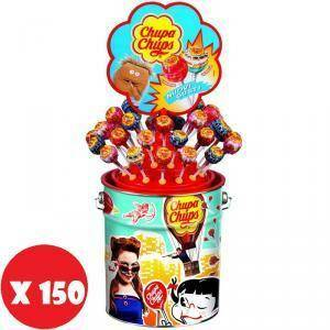 chupa chups chupa chups latta di lecca lecca gusti misti 150 pezzi