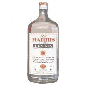 red harris red harris dry gin 1 litro