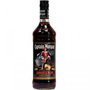 captain morgan captain morgan rum black 1 litro