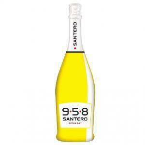 santero santero 958 spumante extra dry 75 cl bottiglia pop art