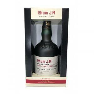j.m j.m rhum multimille'sime (2002 - 2007 - 2009) 50 cl in astuccio
