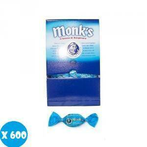 monk's monk's classica display da 600 caramelle balsamiche dure