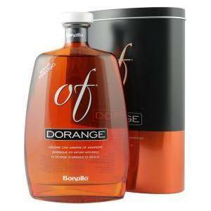 bonollo bonollo grappa dorange 70 cl in astuccio