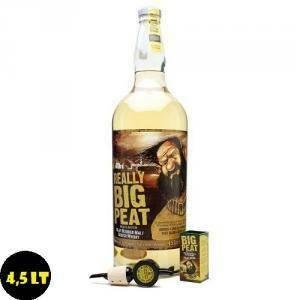 douglas laing's douglas laing's big peat scotch whisky blended 4,5 litri