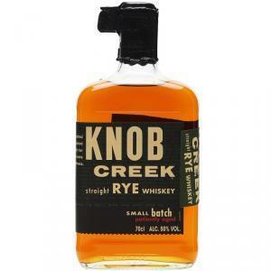 knob creek knob creek rye whiskey small batch patiently aged 70 cl