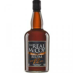 the real mc coy the real mc coy rum 12 years 70 cl