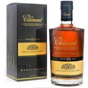 clement clement rhum vieux agricole martinique 10 year 70 cl in astuccio