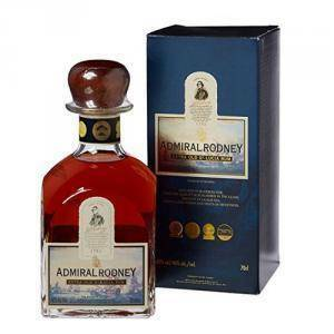 st. lucia distillers st. lucia distillers admiral rodney extra old rum 70 cl in astuccio