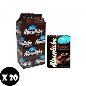 alpenliebe alpenliebe caffe espresso 20 astucci senza zucchero
