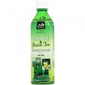 tropical tropical aloe vera e green tea original 500 ml confezione da 20 bottigliette