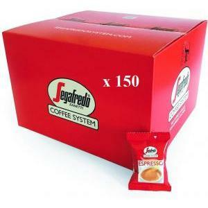 segafredo zanetti segafredo zanetti 150 capsule espresso coffee system