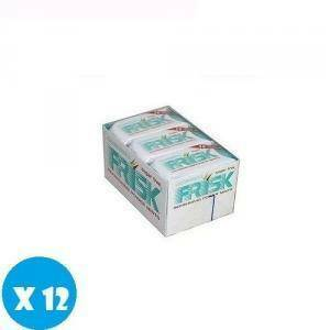 frisk frisk chlorophyll sugar free senza zucchero 12 pz