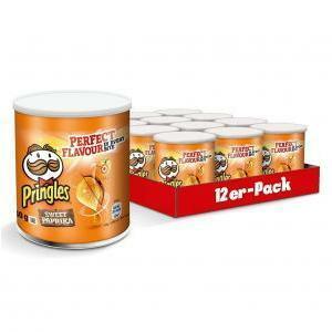 pringles pringles small classic paprika 40g x 12 confezioni