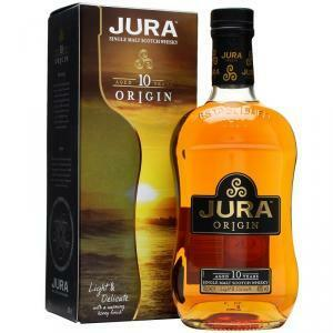 jura jura origin 10 years single malt scoth whisky 70 cl (in astuccio)