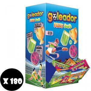 goleador goleador fizzy soft caramelle gommose 180 pz