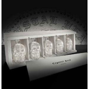 crystal head crystal head in cofanetto regalo five little heads