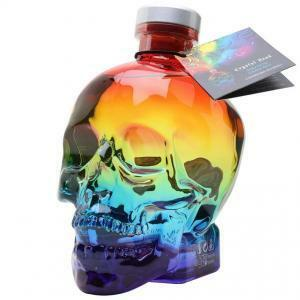 crystal head crystal head aurora 70 cl vodka in astuccio edizione limitata + 2 bicchieri