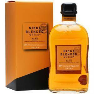 nikka nikka blended whisky 70 cl in astuccio