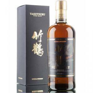 nikka nikka whisky taketsuru pure malt 70 cl in astuccio