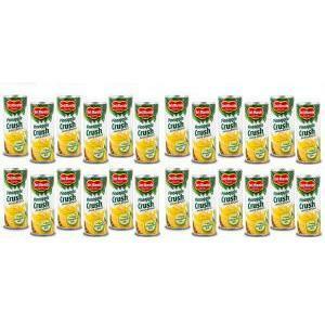 del monte del monte crush 240 ml pineapple juice ananas a pezzi (24 pz)