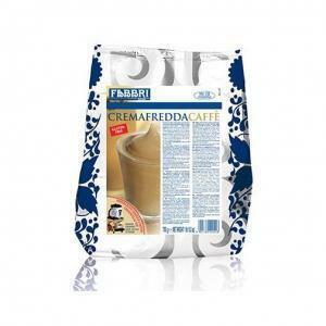 fabbri fabbri crema fredda caffe' in polvere 750g (70 porzioni) senza glutine