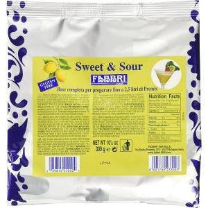 fabbri fabbri sweet & sour in polvere 300g (2,5 litri)