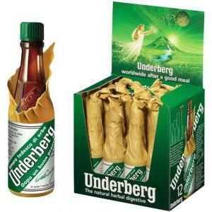 underberg underberg amaro 12 bottigliette mignon da 2 cl digestivo di erbe aromatico