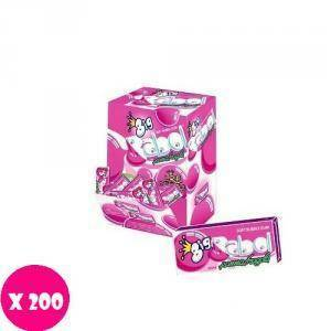 big babol big babol panna e fragola 200 pz