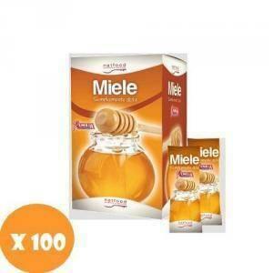 natfood natfood miele monodose emilia 100 bustine da 6g ciascuna