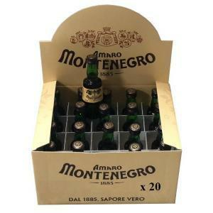 montenegro montenegro amaro mignon miniature 5 cl - 20  bottigliette