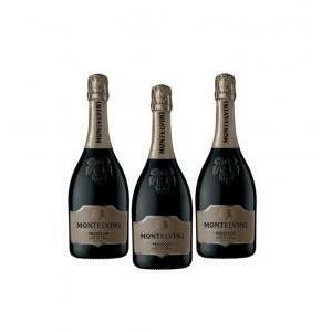 montelvini montelvini prosecco treviso doc cuvee dell' erede extra dry 75 cl (3 bottiglie)