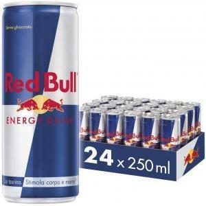 red bull red bull energy drink 250 ml (24 pz)